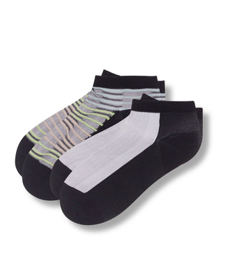 Peg Bundy Womens' Sheer Low-Cut Socks 2 Pack