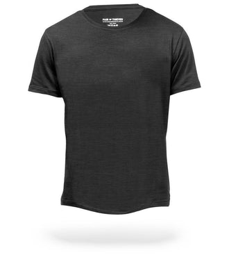 Charcoal Heather Grey Classic Tee SuperSoft Crew Neck Tee