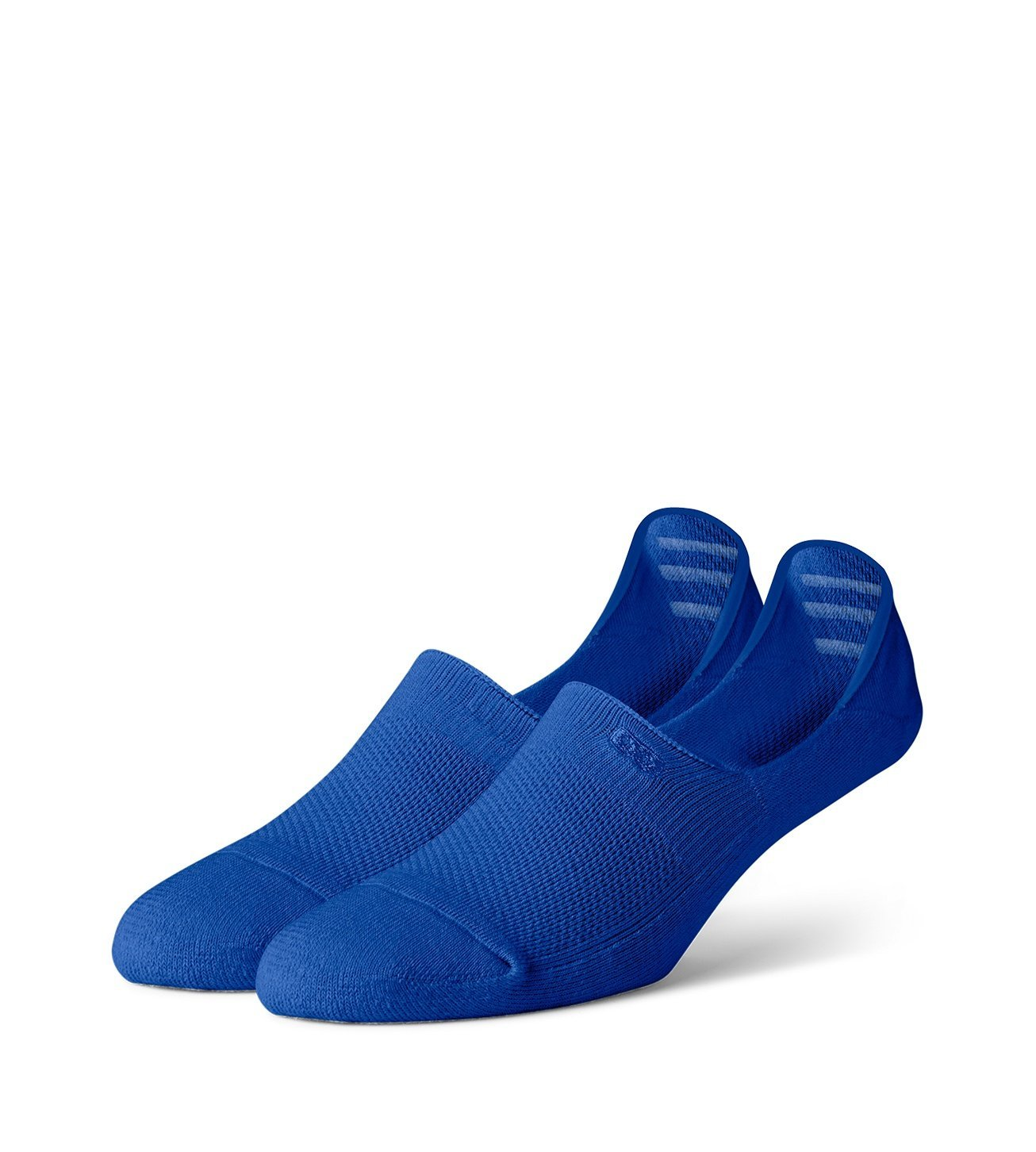 Royal Blue Women's Prism Cushion No Show Socks