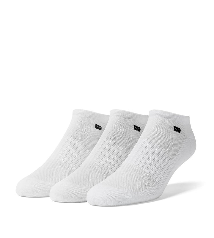 Whiteout Men's Low Cut Socks 3 Pack