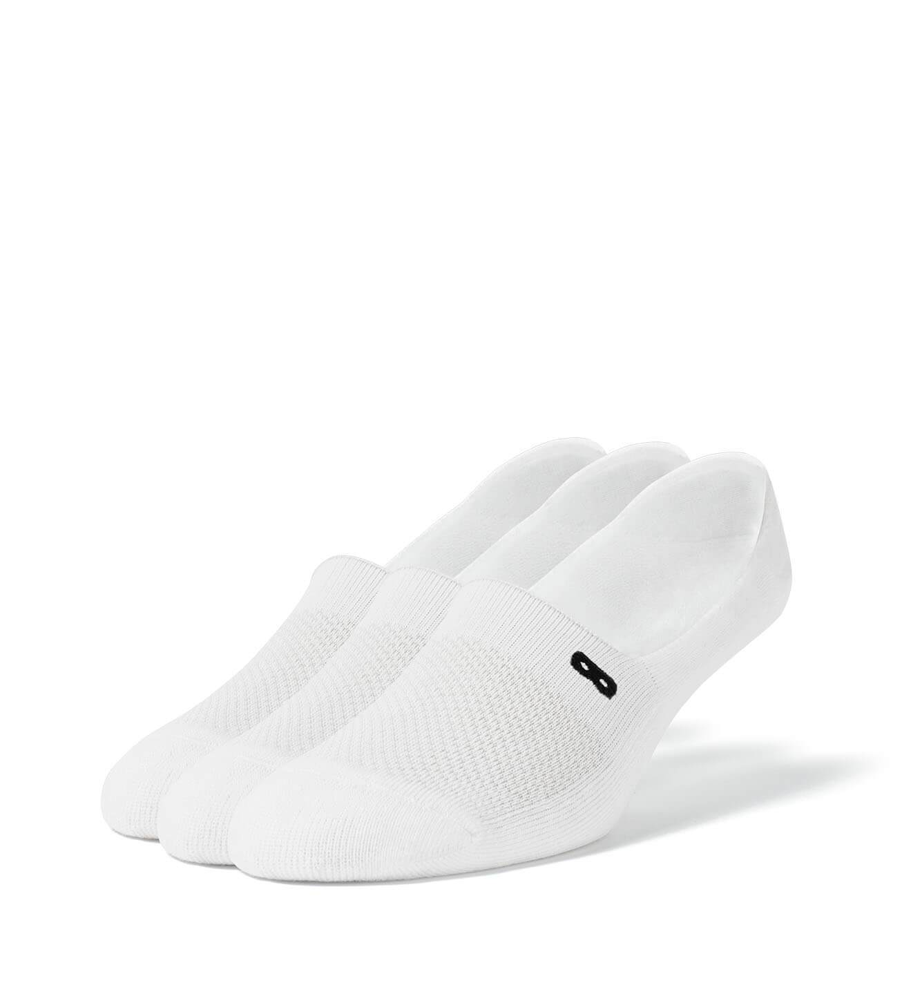 Whiteout Cushion Women's No Show Socks 3 Pack