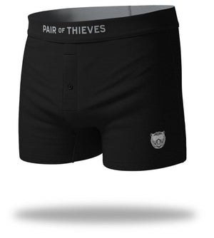 Black Whole SuperSoft Slim-Fit Boxers