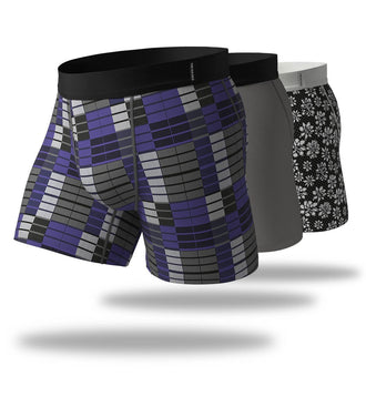 Gluten Free Agent SuperFit Boxer Brief 3 Pack