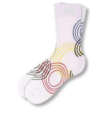 Cotton Podium Crew Socks