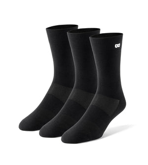 Blackout Everyday Men's Crew Socks 3 Pack