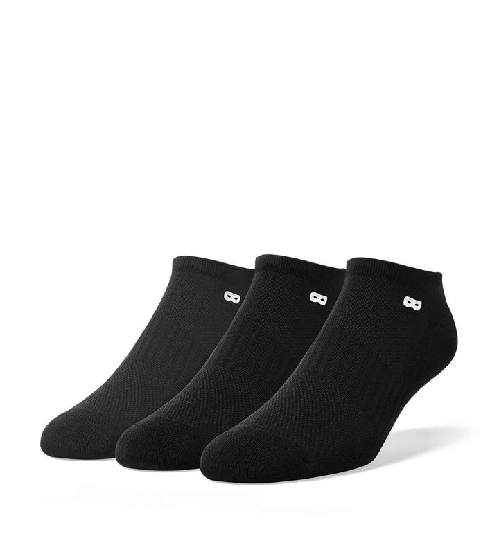 Blackout Men's Low Cut Socks 3 Pack