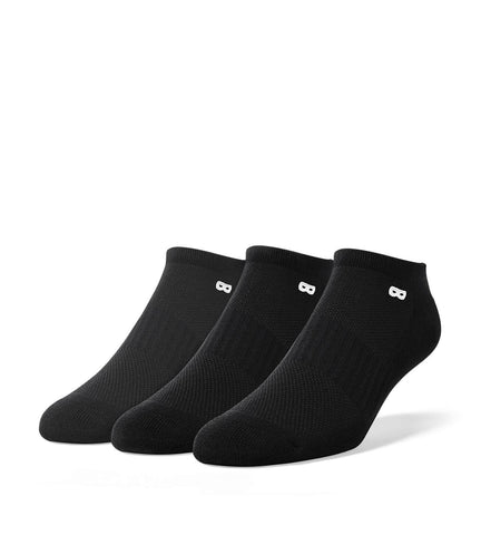 Blackout Men's Low-Cut Socks 3 Pack