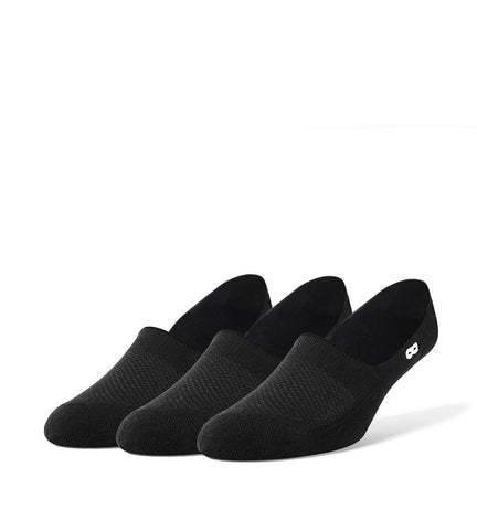 Blackout Men's Cushion No Show Socks 3 Pack
