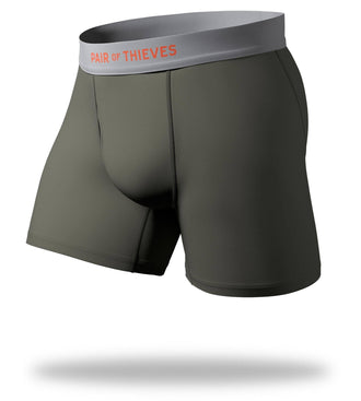 The Solid Seaweed Cool Breeze Boxer Brief