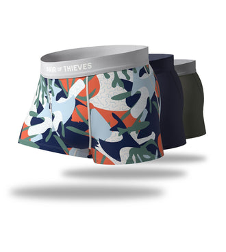 Coral Reef Cool Breeze Trunk 3 Pack