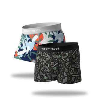 Plastic Medal/Fillmore Try Both SuperSoft & SuperFit Trunk 2 Pack