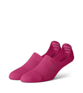 Magenta Women's Prism Cushion No Show Socks