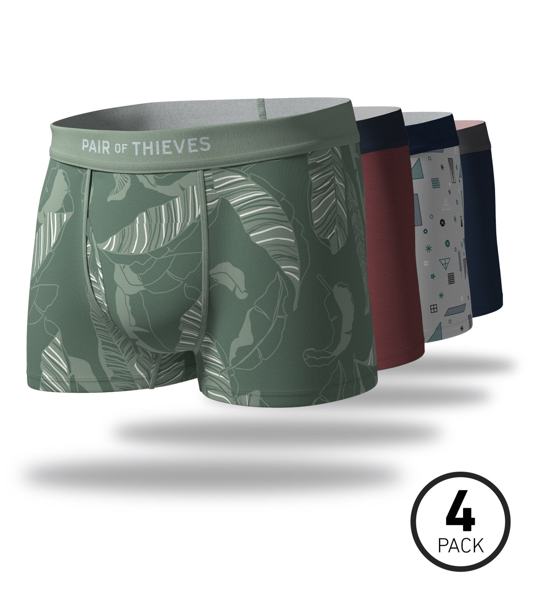 Men's Revealed SuperSoft Trunk 4 Pack