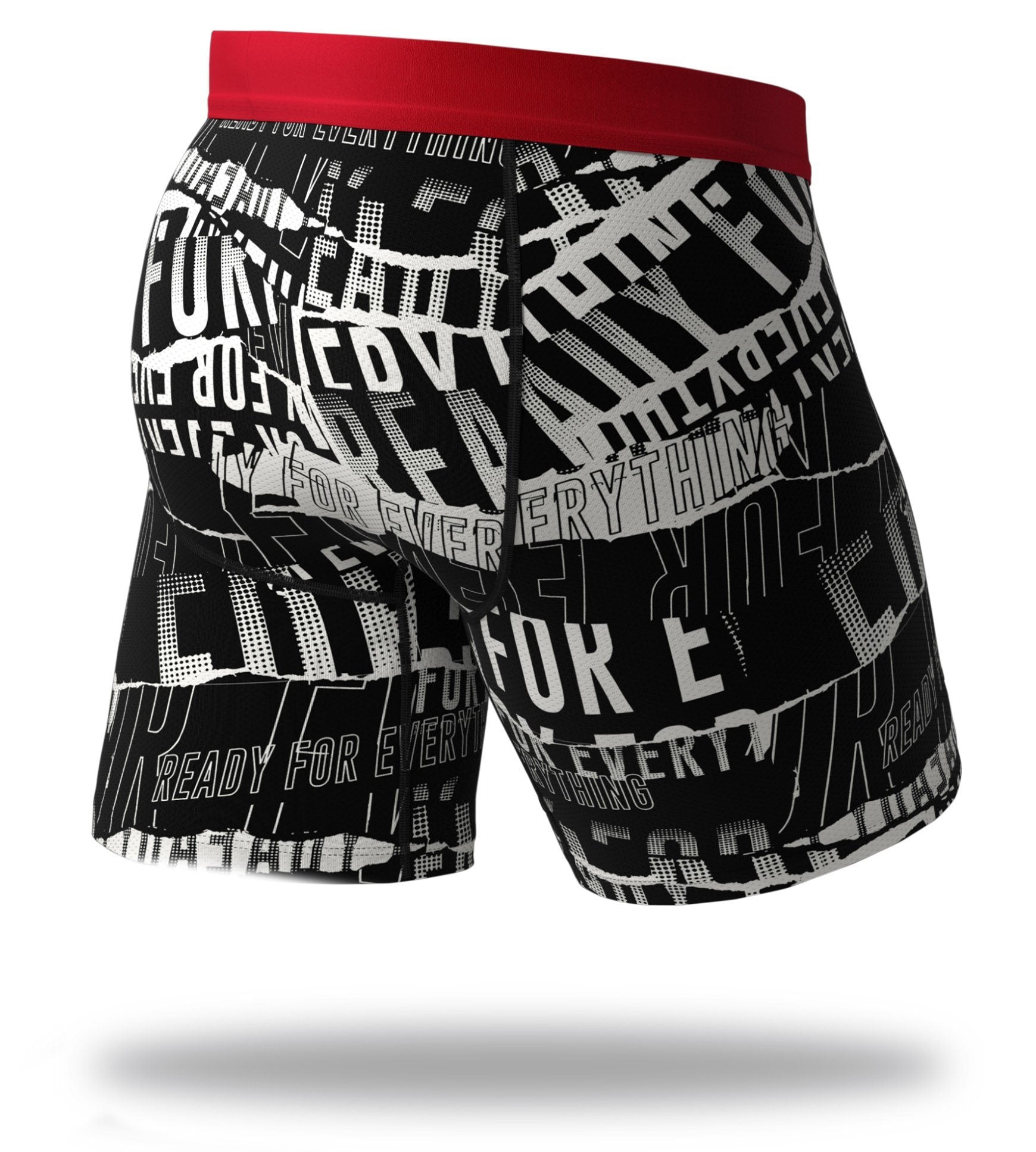 F. Friendly Cool Breeze Long Boxer Briefs Back