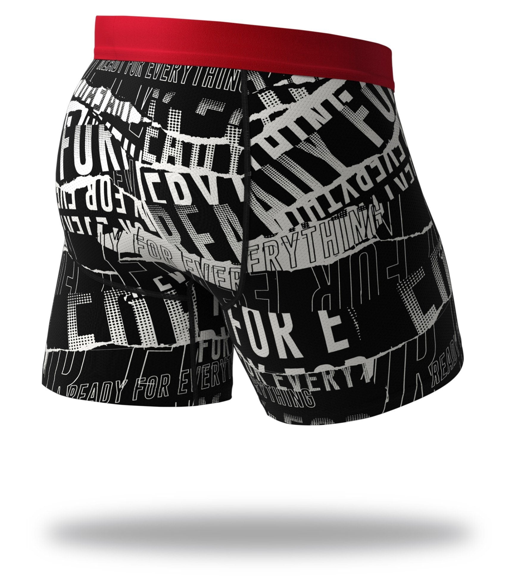 F. Friendly Cool Breeze Boxer Briefs Back