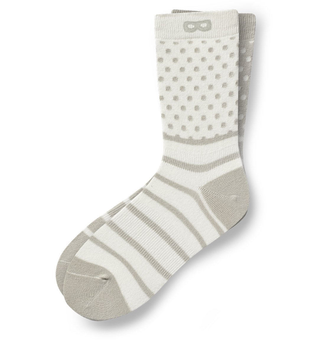 2 Shades of Grey Women's Crew Socks