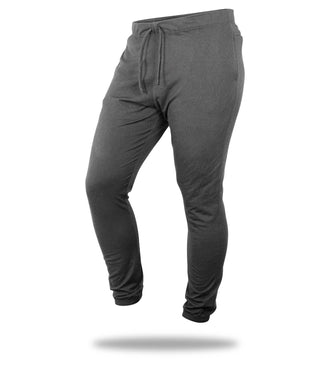 The Solid Charcoal Heather Grey Mega Soft Lounge Pant