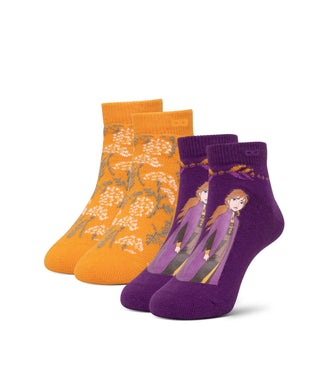 Frozen Fever Kid's Low Cut Sock 2 Pack