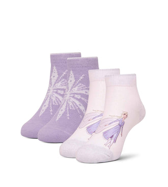Frozen Too Cold Kid's Low Cut Sock 2 Pack