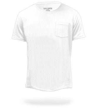 The Classic White Mega Soft Crew Neck Pocket Tee product image