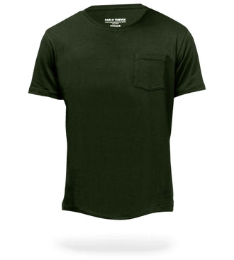 SuperSoft Crew Neck Pocket Tee