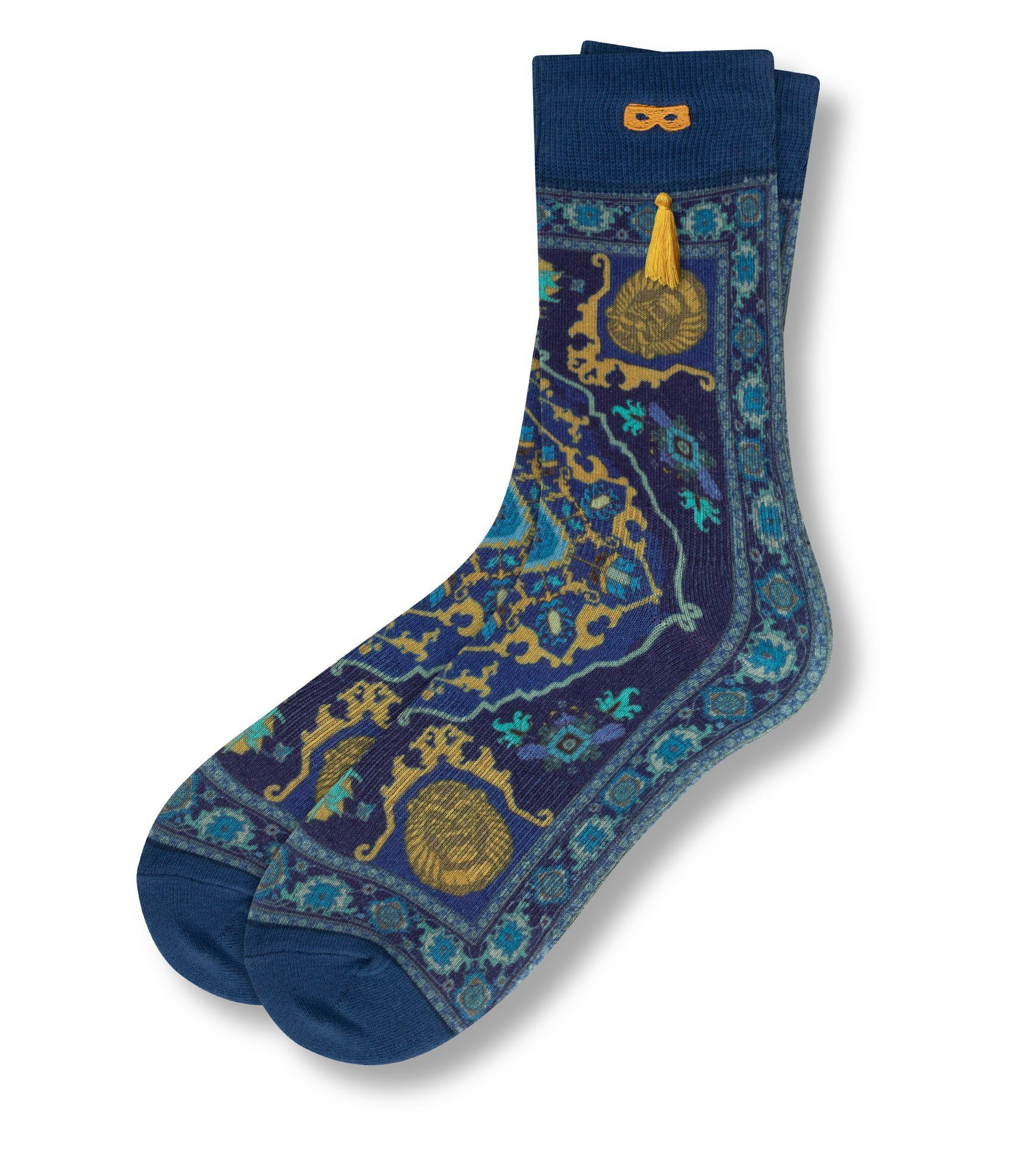 Disney Aladdin Give Me Some Tassel Men's Crew Socks