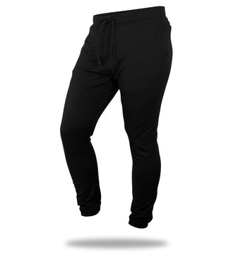 The Solid Black Mega Soft Lounge Pant