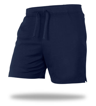 The Solid Dark Navy Mega Soft Lounge Short