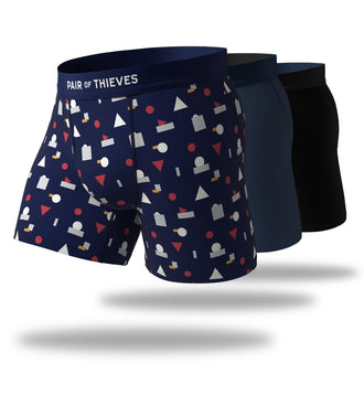 Bomb Dot Com Cool Breeze Boxer Brief 3 Pack