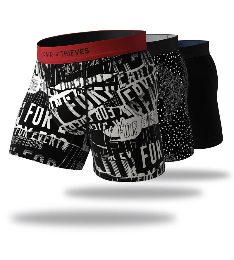 Men In Black Cool Breeze Boxer Brief 3 Pack