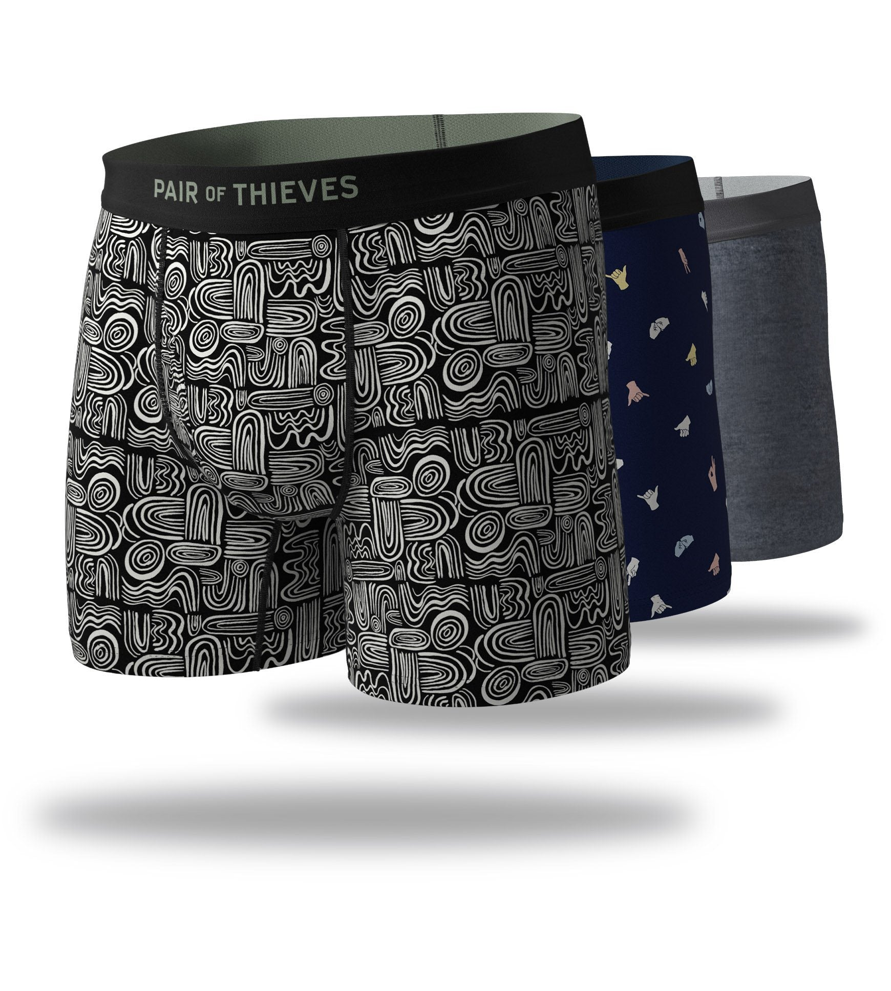 Oh Boy! Mega Soft Boxer Brief 3 Pack