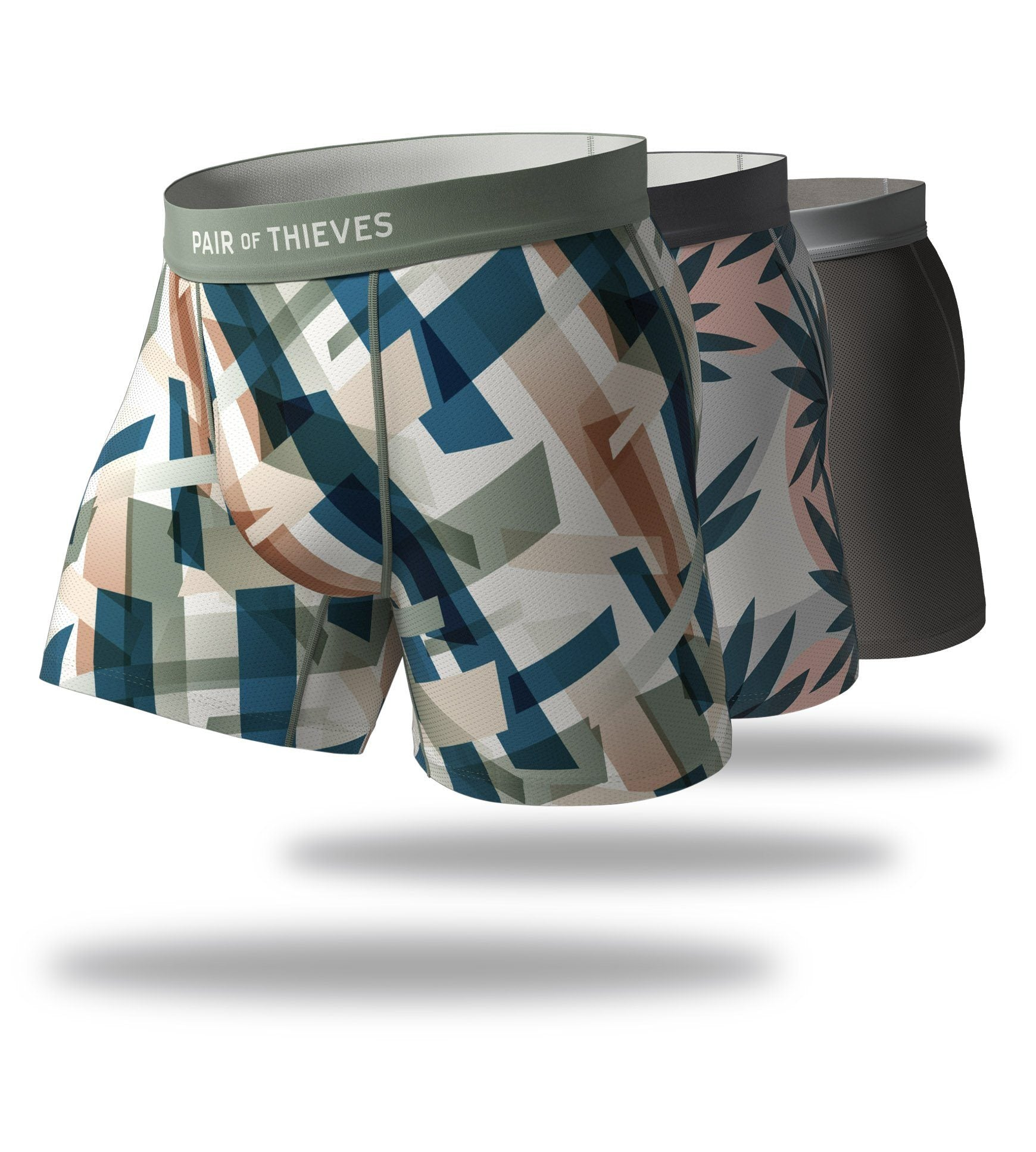 Total Upgrade Cool Breeze Boxer Brief 3 Pack