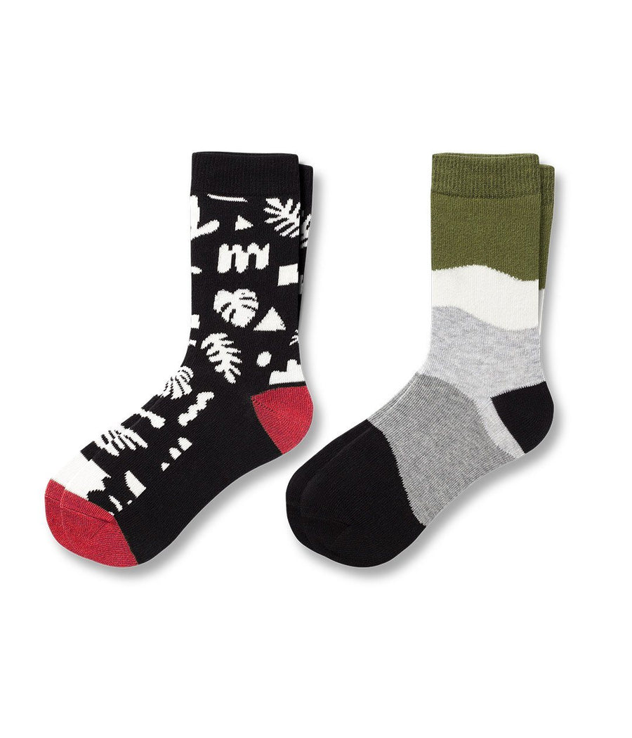 Llamasaurus Kid's Crew Sock 2-Pack