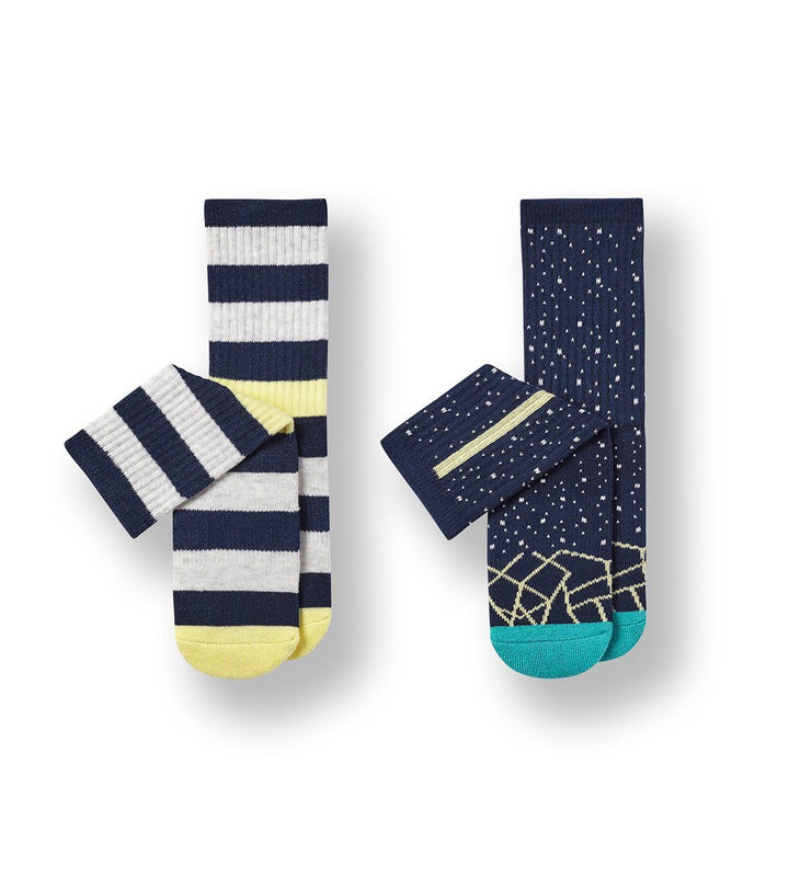 No Watermelons Kid's Cushioned Crew Socks 2-Pack