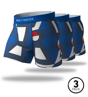 Zero Sum Game SuperFit Boxer Briefs 3 Pack