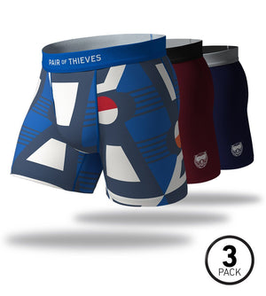 Everybody Wins SuperFit Boxer Briefs 3 Pack