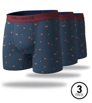 Bird in The Hand SuperSoft Boxer Briefs 3 Pack