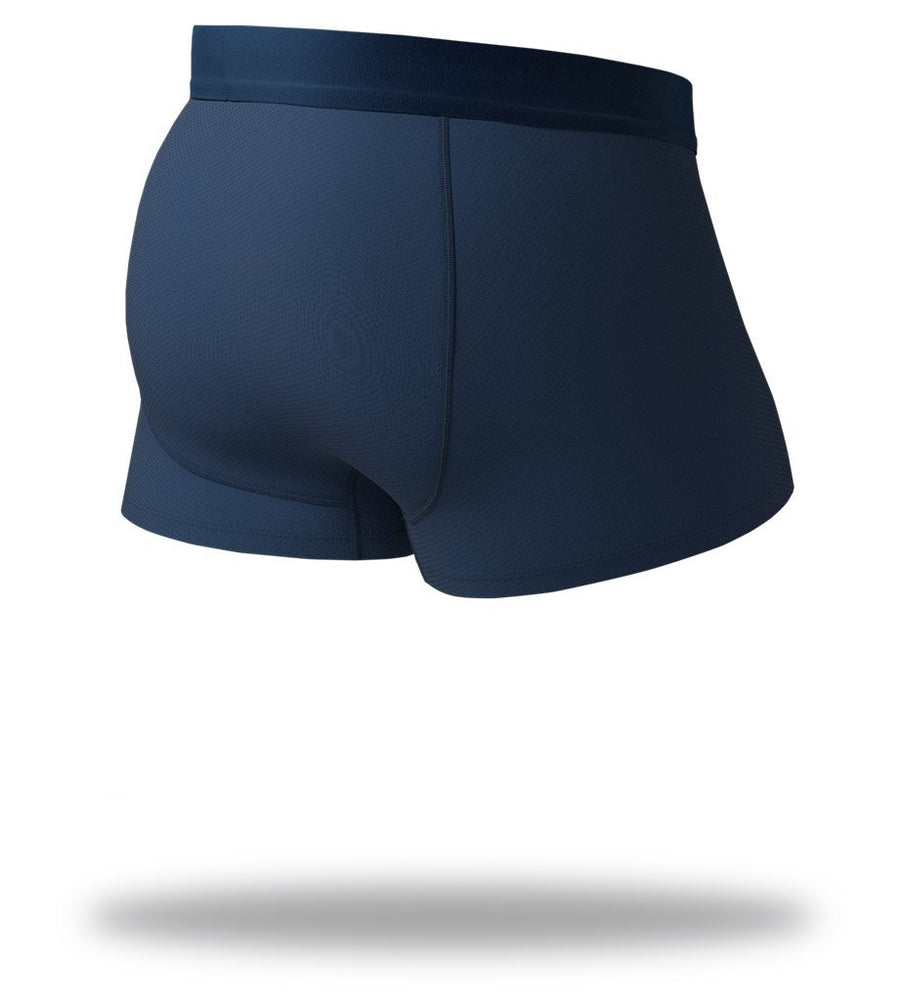 The Solid Navy Navy SuperFit Trunks