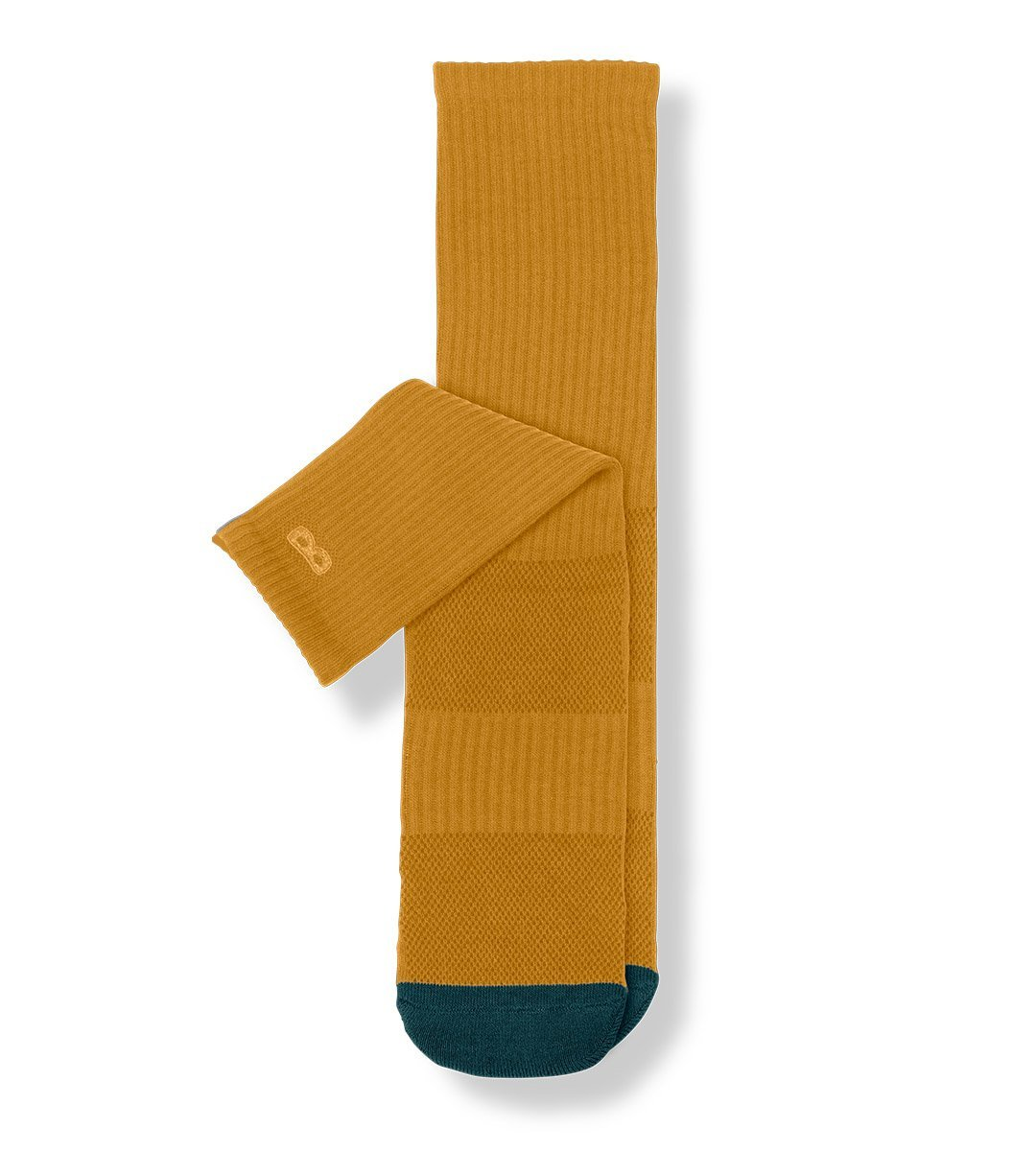 Gold Men's Prism Cushion Crew Socks