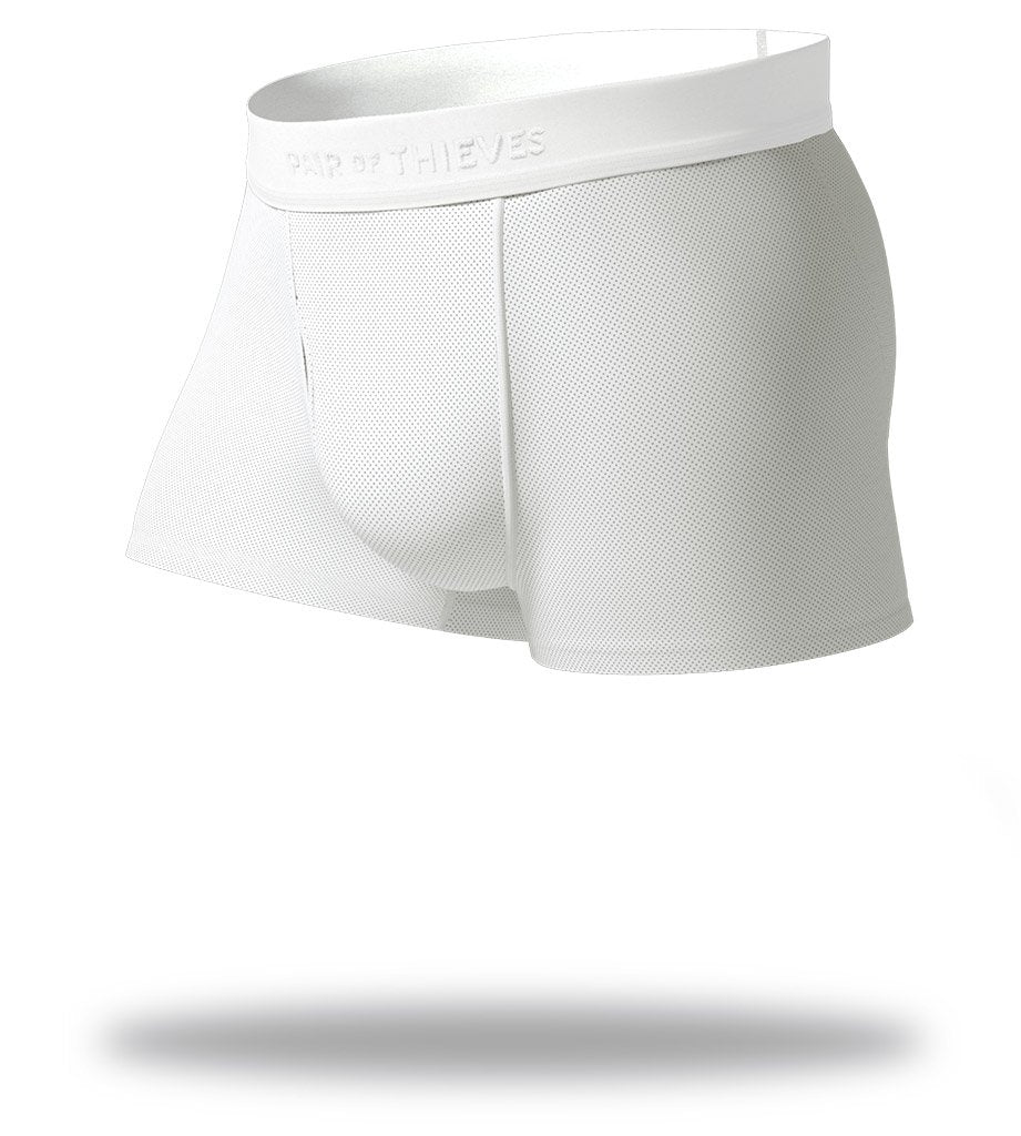 Blank Slate White SuperFit Trunks