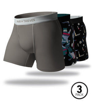 Almost Gone SuperFit Boxer Brief 3 Pack