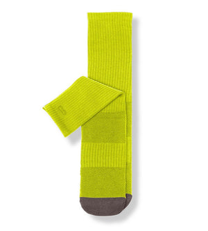 Lime Men's Prism Cushion Crew Socks