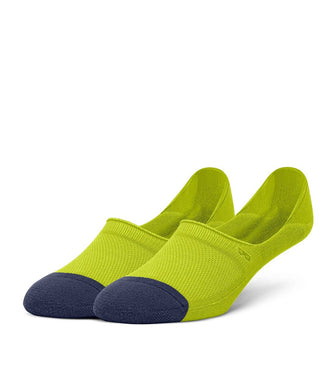 Lime Women's Prism Cushion No Show Socks