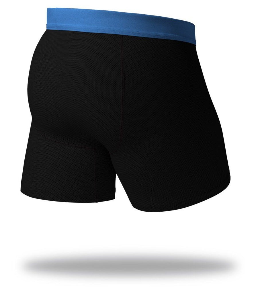 Blue Blackout SuperFit Boxer Briefs