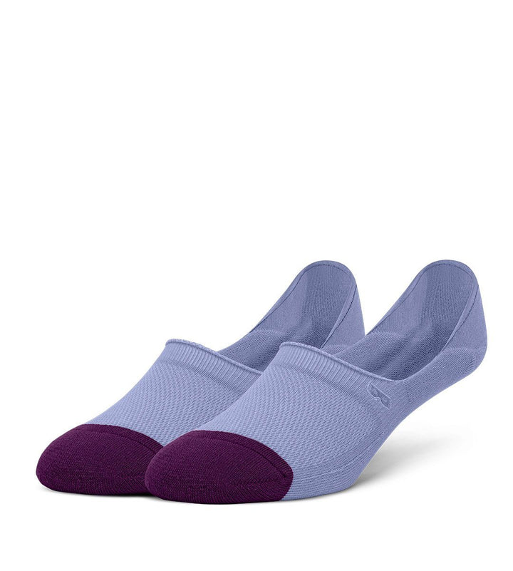 Periwinkle Men's Prism Cushion No Show Socks