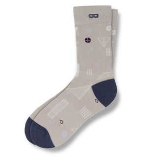 Soup To Nuts Men's Crew Socks