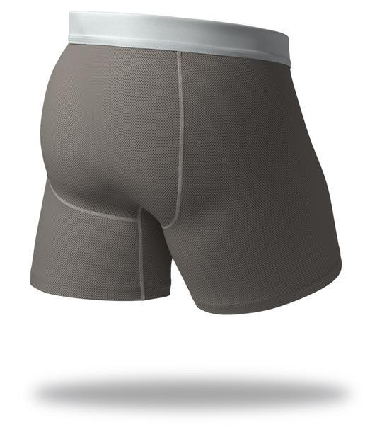 Gunmetal Grey Cool Breeze Boxer Brief 3 Pack