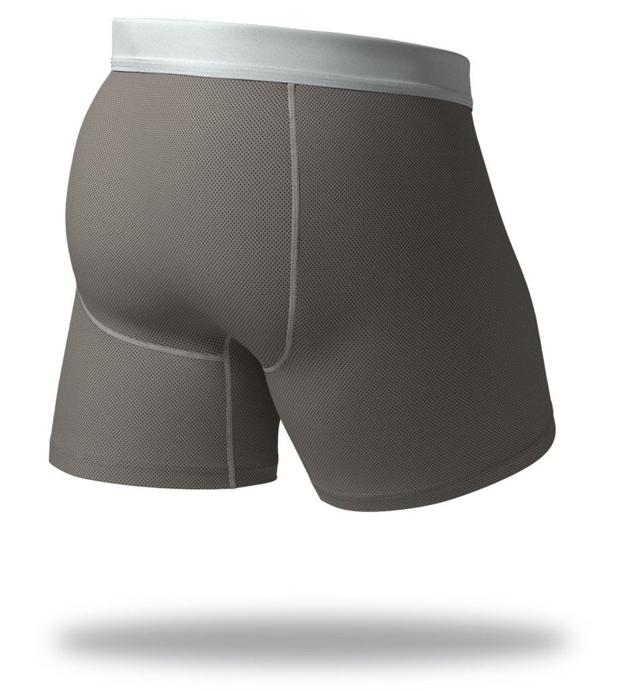 The Solid Gunmetal SuperFit Boxer Briefs