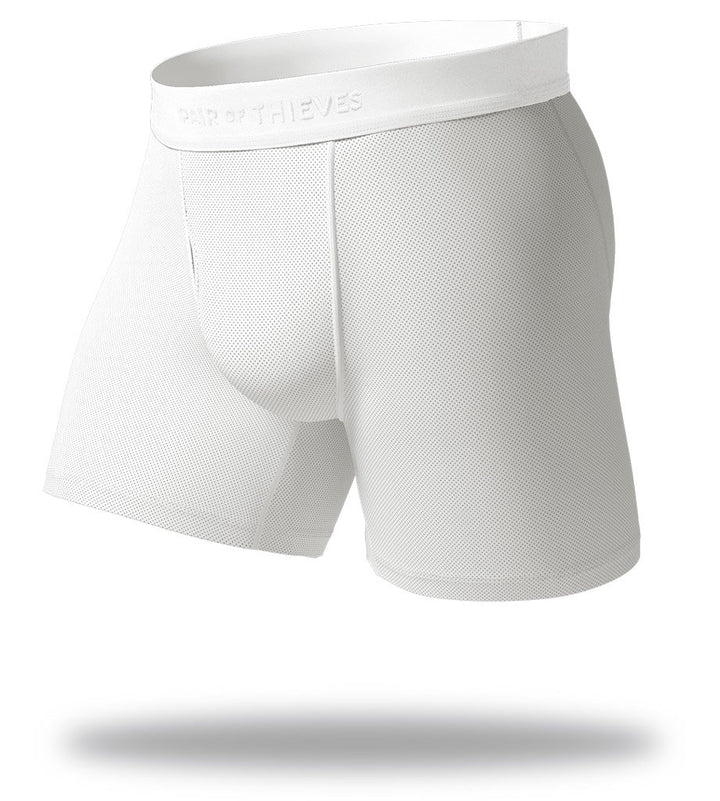 Blank Slate White SuperFit Boxer Briefs