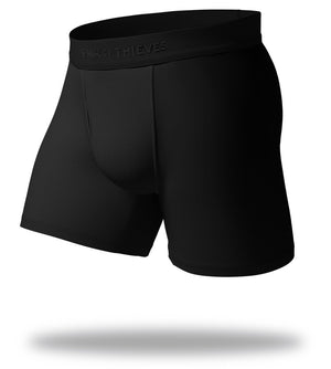Blank Slate Black SuperFit Boxer Briefs